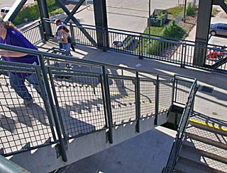 Coors Field stairs